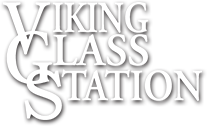 Viking Glass Station, Footer Logo